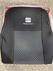 Авточехлы VIP SEAT Leon хб 2009-2012 автомобильные модельные чехлы на для сиденья сидений салона SEAT Сеат Leon