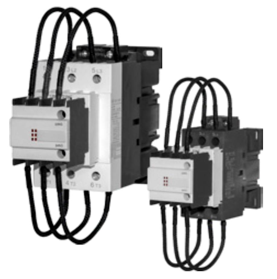 Контактор пускатель 3-х полюсный для систем компенсации реактивной мощности с катушкой 220В,