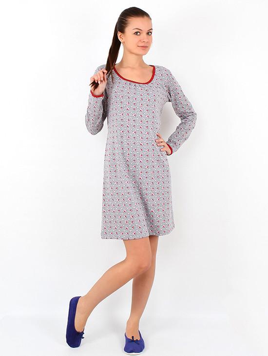Ночная рубашка женская NL 029 (S-2XL)