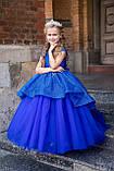 Длинное нарядное блестящее платье Бетси, фото 4