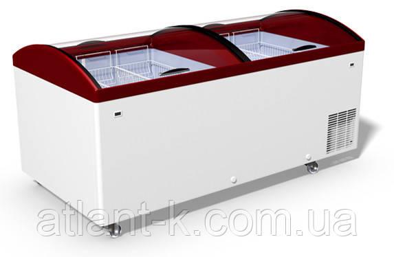 Морозильная бонета JUKA M 1000 V с гнутым стеклом