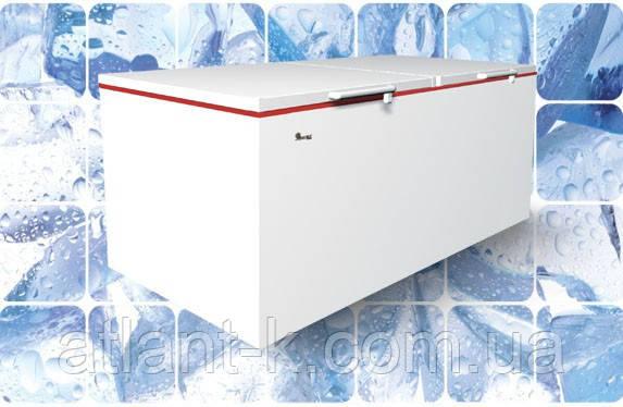 Морозильный ларь JUKA M1000Z с глухой крышкой для больших складских помещений