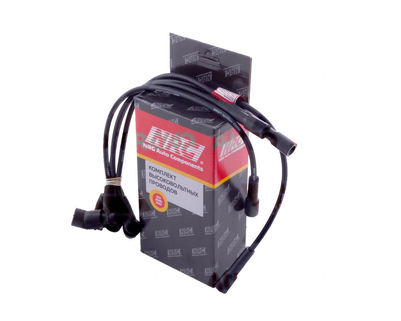 Провода зажигания ВАЗ 2110, 2111, 2112 инжектор 8 клапанный дв. 1,5, комплект, силикон (NRG). 2111-3707080