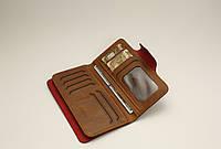 Мужской кошелек Портмоне стильный удобный Baellerry COK10 Коричневый, фото 1