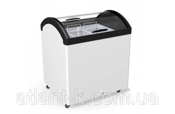 Морозильный ларь JUKA  M 200 V с гнутым стеклом