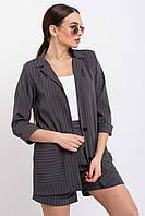 Женский свободный костюм с пиджаком и шортами (Криспи-шорты ri)