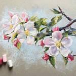 Яблуневий цвіт пастеллю