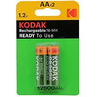 Акумулятори Kodak R06 2600mAh 2шт/бл