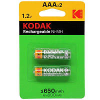 Акумулятори Kodak R03 650mAh 2шт/бл