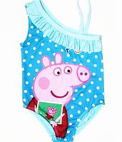 Сдельный купальник для девочки свинка Пеппа