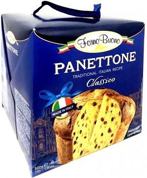Випічка Класична Panettone Forno Buono Classico 500 г Італія