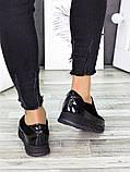 Спортивные туфли лоферы женские замшевые черные, фото 5