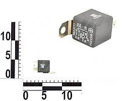 Реле 5 контактное 12В 30/20А, кронштейн, с резистором ВАЗ, ГАЗ 3302, Газель (ЭМИ). 982.3777