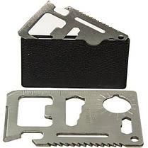 Мультитул E-SMART стальной универсальный 9 в 1 нож пила гаечный ключ линейка, фото 2