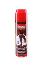 """SHOW"" - аэрозоль краска для нубука и замши 250 мл  Коричневая"