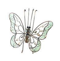 """Декор для горшечных растений """"Бабочка"""" бежевая BF-06"""