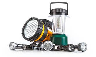 Фонари, фонарики и LED светильники