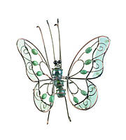 """Декор для горшечных растений """"Бабочка"""" зеленая BF-07"""