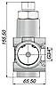Гідророзподільник з пневмокеруванням для TIR KZL IZAM 140л/хв, фото 3