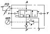 Гідророзподільник з пневмокеруванням для TIR KZL IZAM 140л/хв, фото 4