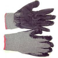 Хлопчатобумажные перчатки с прорезиненной ладонью