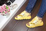 Босоножки женские желтые Б325, фото 3