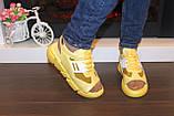 Босоножки женские желтые Б325, фото 4