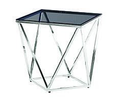 Стол кофейный CF-2тонированный + серебро