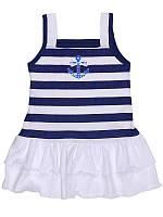 Платье для девочки, летнее, кулир, Татошка