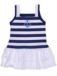 Платье для девочки, летнее, кулир, Татошка (размер р.122)