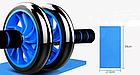 Фітнес колесо Double Wheel | Ролик для преса, фото 3