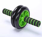 Фітнес колесо Double Wheel | Ролик для преса, фото 5