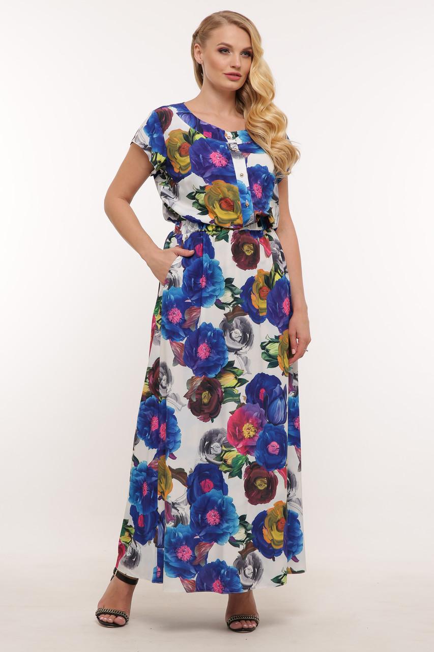 Довге жіноче плаття Влада квіти