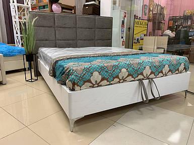 Кровать 160х200 с подъемным механизмом, Детройт-2, серия Модерн в шпоне