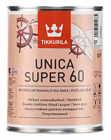 Лак для дерева износостойкий Unica Super Tikkurila 0,9 л.