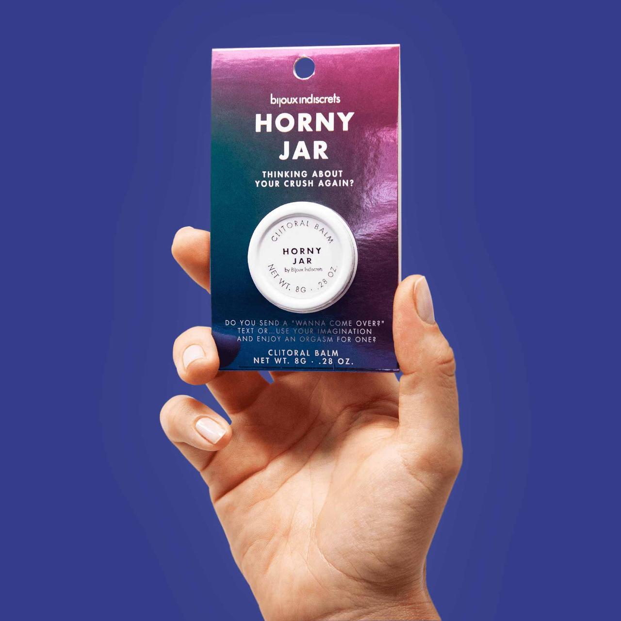 Бальзам для клитора  Clitherapy: HORNY JAR  аромат сандала Bijoux Indiscrets (Испания)