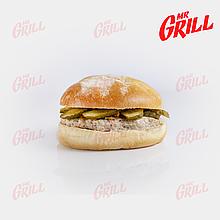 Гамбургер с котлетой из куриного мяса