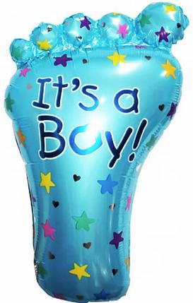 Фол шар фигура Стопа / Ножка Its a boy (Китай), фото 2