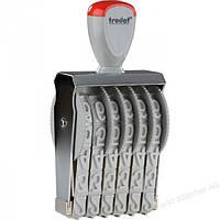 Нумератор ленточный 6-разрядный прямоугольный Trodat 15186 18 мм
