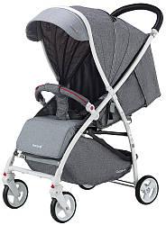 Коляска прогулочная Quatro Lion №14 grey (графит-серый)