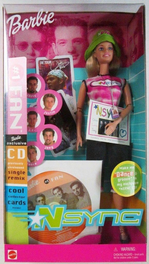 Лялька Барбі Прихильниця NSYNC 2000