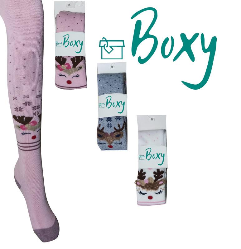 Колготки махровые для девочки, Boxy