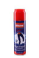 """""""SHOW"""" - аэрозоль краска для нубука и замши 250 мл  Тёмно Синяя"""