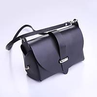 Кожаная сумка Scappa BAG-3 черная