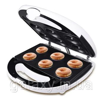 Мультипекарь 4в1 орешки пончики вафли кексы гарантия 750 Вт DSP1131