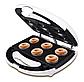 Мультипекарь DSP гарантия на товар 750 Ватт Орешница, пончик мейкер, вафельница, кексница 1131, фото 6