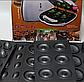 Мультипекарь DSP гарантия на товар 750 Ватт Орешница, пончик мейкер, вафельница, кексница 1131, фото 2