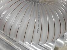 Вентиляційний гнучкий повітропровід від д. 60*0,5 мм до д. 250мм, гофрований рукав для видалення тирси