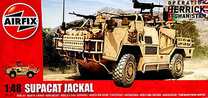 Supacat Jackal. Сборная модель. 1/48 AIRFIX A05301