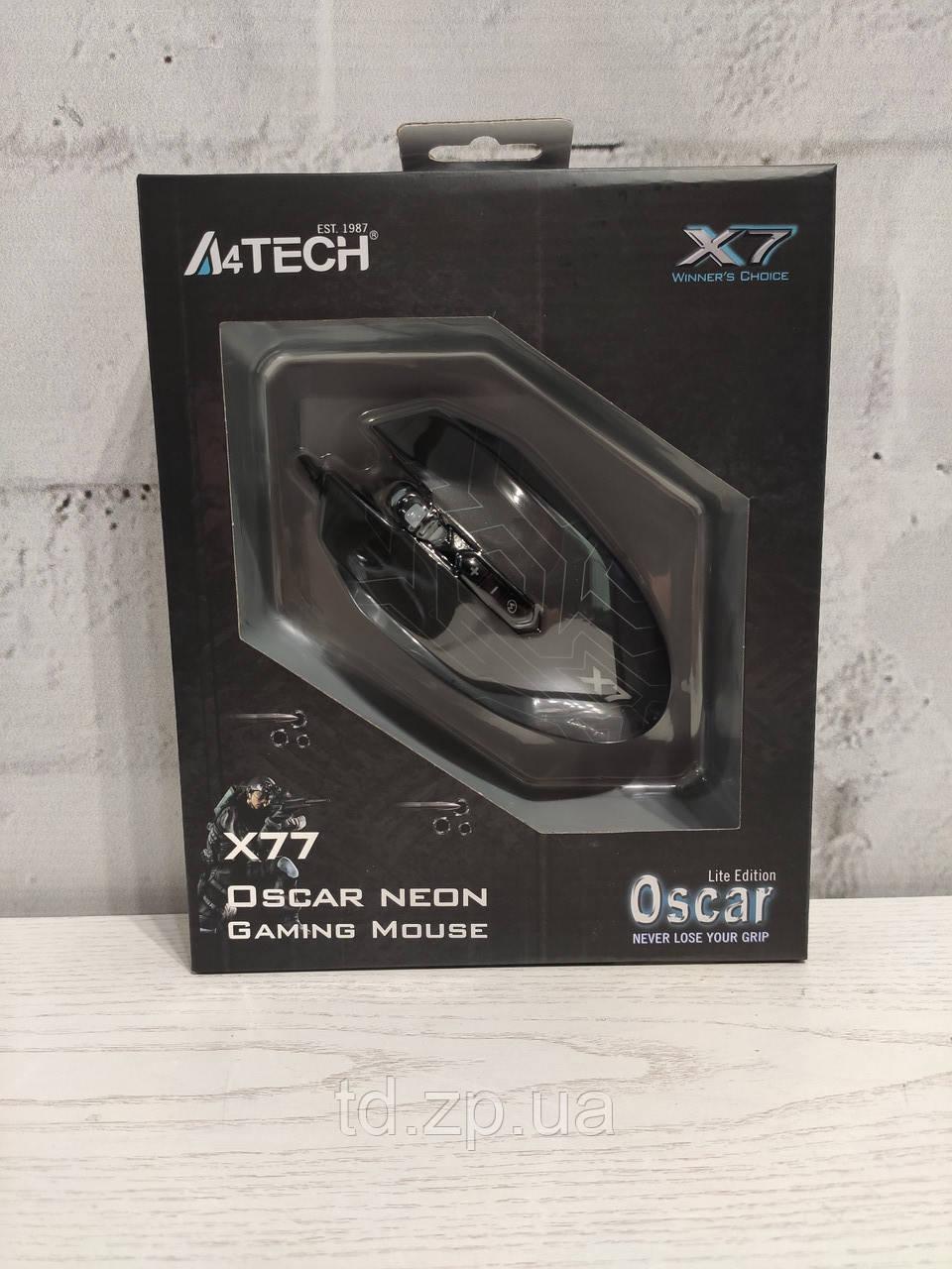 Мышь A4Tech X77 (Black)